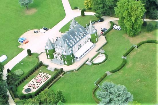 Chateau solvay vu du ciel 1
